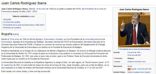 Wikipedia Ibarra