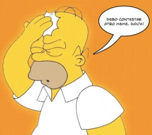 homer simpsons contesta un meme