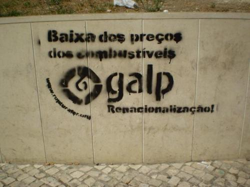 renacionalización galp