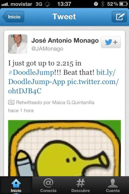 jose antonio monago twitter
